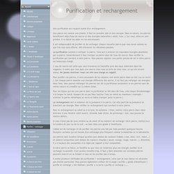 Purifier / recharger - www.a-chacun-sa-pierre.fr