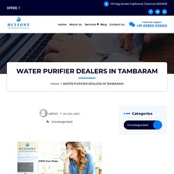 Best water purifier dealers in Tambaram @6380500600