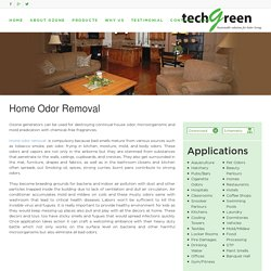 Home Odor Purifier - Techgreensolution