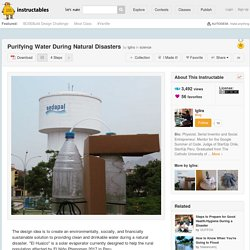 Purifying Water During Natural Disasters: 4 Steps (with Pictures)