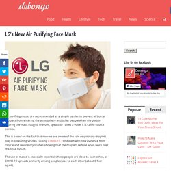 Air Purifying Face Mask