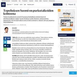 Topeliuksen Suomi on purkutalkoiden kohteena