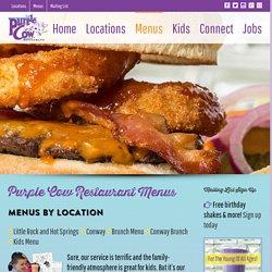 Purple Cow Restaurant Menus