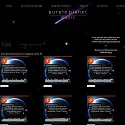 Cute - Purple Planet Royalty Free Music