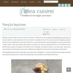 » Purple tapioca