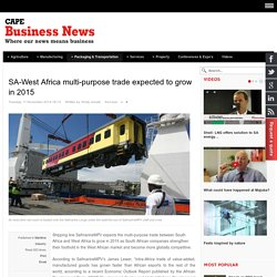 SA-West Africa multi-purpose trade expected to grow in 2015 - Cape Business News