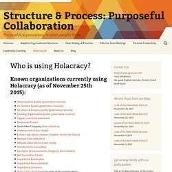 Structure & Process: Purposeful Collaboration