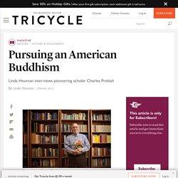 Pursuing an American Buddhism
