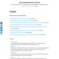 Push - App Marketing Stack