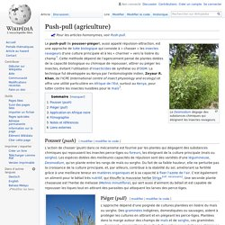 Push-pull (agriculture)