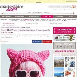 Pussy Hat Project: un bonnet rose tricoté pour la bonne cause