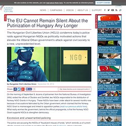 The EU Cannot Remain Silent About the Putinization of Hungary Any Longer