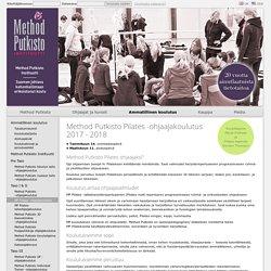 Method Putkisto - MP Pilates -ohjaajakoulutus