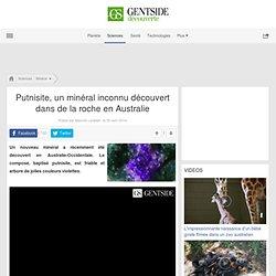 Putnisite, un minéral inconnu découvert dans de la roche en Australie