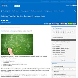 Putting Teacher Action Research Into Action