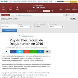 Puy du Fou: record de fréquentation en 2016