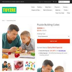 Puzzle Building Cubes – TOYZRE