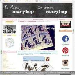 Puzzle numérique - La Classe de Marybop