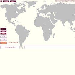 Puzzle des 100 plus grands pays du monde