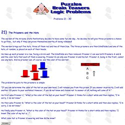Puzzles - Brain Teasers - Logic Problems (21-30)