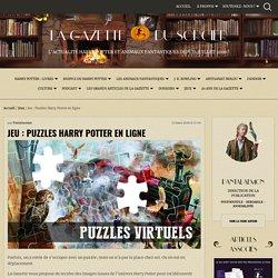 Jeu : Puzzles Harry Potter en ligne — La Gazette du Sorcier