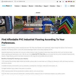 Pavimento industriale in PVC