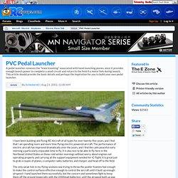 PVC Pedal Launcher