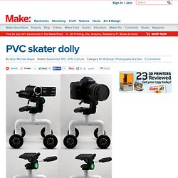 Make: Online : PVC skater dolly