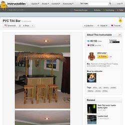 PVC Tiki Bar