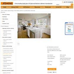 pvc white kitchen cabinet set