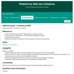 PWA_GareCentrale : GroupeContenu