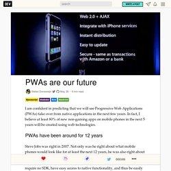 PWAs are our future
