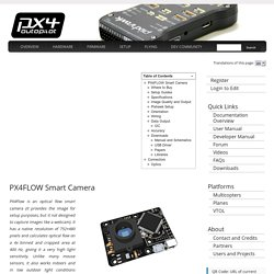 PX4FLOW Smart Camera - PX4 Autopilot Project
