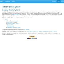 PY4E - Python for Everybody