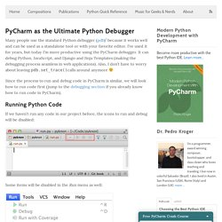 PyCharm as the Ultimate Python Debugger
