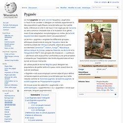 Pygmée