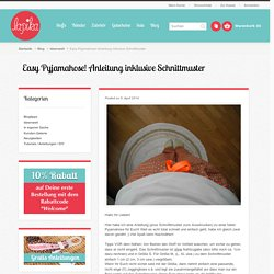 Easy Pyjamahose! Anleitung inklusive Schnittmuster
