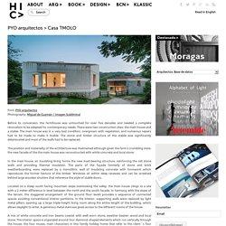 PYO arquitectos > Casa TMOLO
