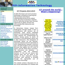 PYP-Information Technology