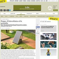 Pyppy, il fotovoltaico si fa portatile