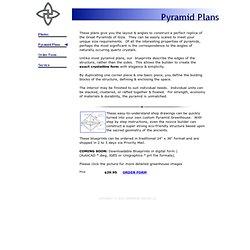 Pyramid Plans