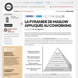 La Pyramide de Maslow appliquée au coworking