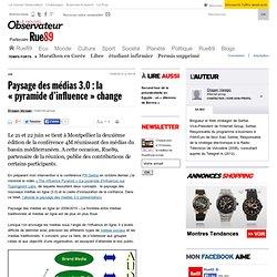 Paysage des médias 3.0: la «pyramide d'influence» change