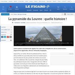 La pyramide du Louvre: quelle histoire!