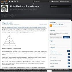 la Pyramide sociale. - Cote d'Ivoire et Présidences...