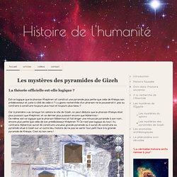 Les mystères des pyramides de Gizeh - Site de humanitehistoire !