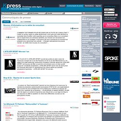 Midi Pyrénées | Communiqués de presse