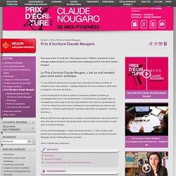 Culture - Prix d'écriture Claude Nougaro