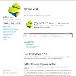 pyRevit v4.3