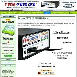 PYRO-ENERGEN : Ordering